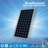 EverExceed High Efficiency 70w Monocrystalline Solar Panel with TUV/VDE/CE/IEC Certificates for customized solar system