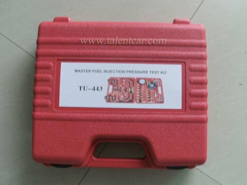 2015 최고- 정격 TU-443 연료 압력 시험기 키트 전체 tu443 마스터 연료 분사 압력 테스트 키트