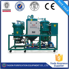 Fason best sales used engine oil refining machine/waste oil regeneration equipment