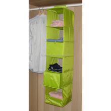6 tier polyestic fabric clothes organizer container