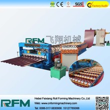 FX Metal roofing cold roll forming machine