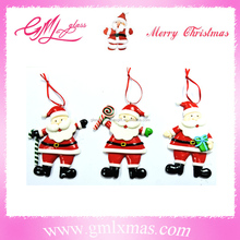 2016 Festive & Party Supplies santa claus clay craft,christmas polymer clay pendant,lovely handmade santa clay pendant on market