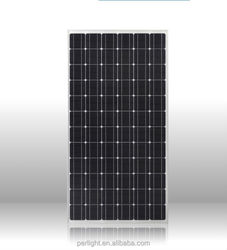 the high efficiency import 300w solar panel with aluminium frame price