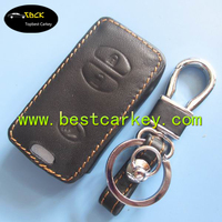 Big Discount leather car key case for toyota key fob case car key wallet
