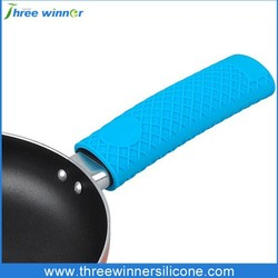 Non-slip and durable silicone pot handle covers