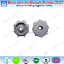 gray iron iron clay sand casting pump cover for pumps