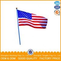 Quality First Lowest Cost Outdoor Promotion Blue Yellow Flag Country