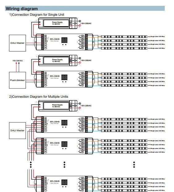 Sr-2304b Dali+push Dimming Function - Buy Dali+push,Dali,Dali Led ...