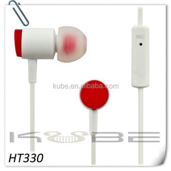 high quality fashionable mobile earphone & headphone with factory price