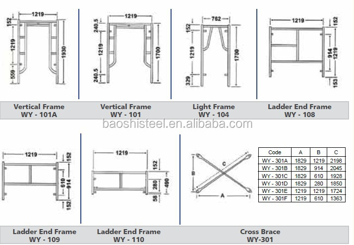 Different Types Of Scaffolding : All types used scaffolding for sale in uae buy