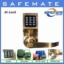 Low Price Remote Control digital door lock with four ways to open
