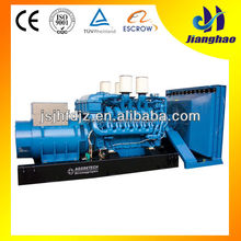 1200kw 1500kva diesel generator powered by MTU engine for sale