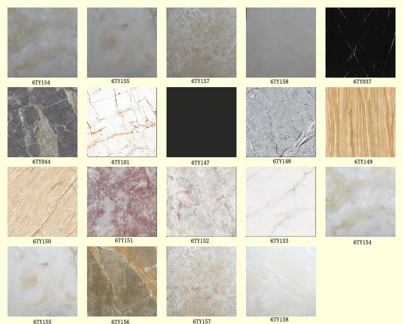 Foshan Copy Black Marble Ceramic Tile Price Crema Marfil Polished
