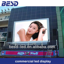 high brightness led video screen outdoor P10 10000nits, clear in the sun