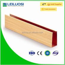 Environmental aluminum u shape linear ceiling