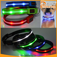 2015 new products TZ-PET6100 dog collar nylon dog collars products you can import from china