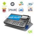 Programmable qs-pc700 bureau. 3g pos imprimante scanner avec la technologie rfid et de codes barres