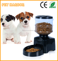 2015 New 5.4L Medium capacity automatic pet feeder with sound recorder timed food supply auto dog feeder