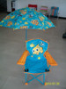 Hot sale kids folding camping beach chair with umbrella, folding chair