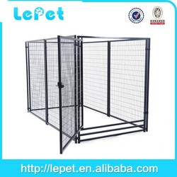 heavy-duty large welded panel kennel dog house for sale