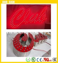 energy saving changeable led sign letter