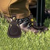 Tourbon hunting gun accessories vintage durable brown leather shotgun rifle barrel rest hunting shooting free shipping