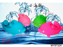 3pcs/set mother and children dolphin bath toys for babies