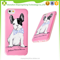 2016 New Products Mobile Phone Case for iPhone 6s Cover with Lovely Dog