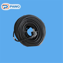 For sale European plug 100m heat roofing cable