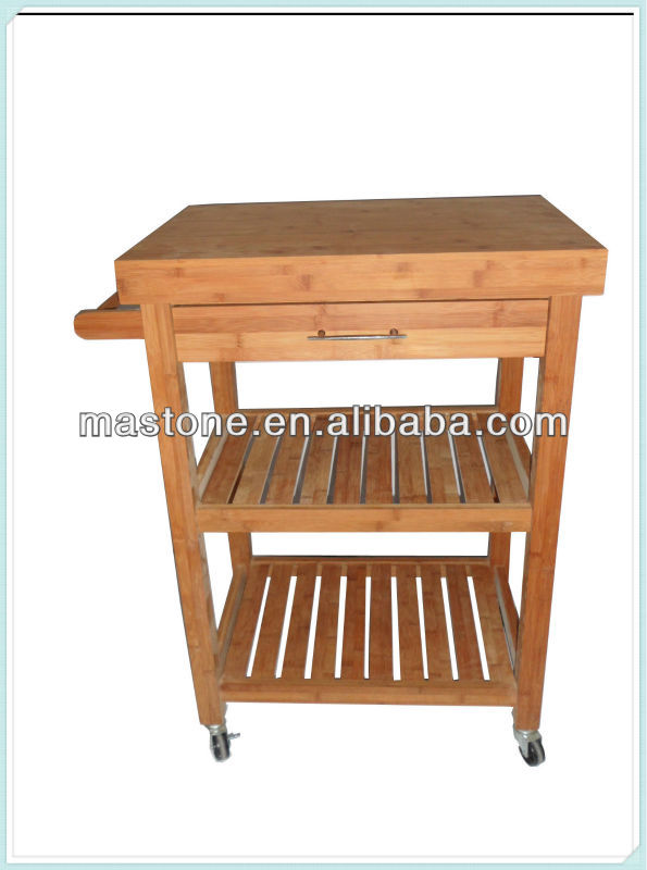 Hot Sale Bamboo Kitchen Cart Buy Dining Serving Cart