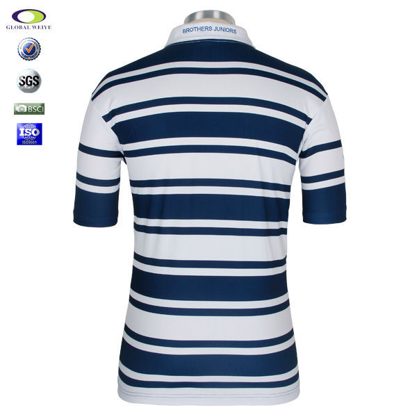China factory cheap custom mens polo collar striped t for Cheap polo collar shirts