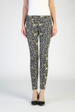 pantalones elásticos estampados de moda para mujeres