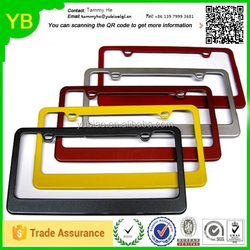 Factory manufacturing metal motorcycle car license plate frame machine