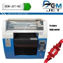 new tech 3d t shirt printer 3d t-shirt printing machine