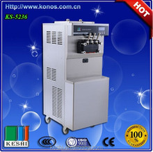 keshi commercial hard ice cream maker/frozen yogurt hot selling in market