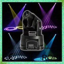High Quality Professional Stage Light Show Color Strobe Effect Cheap 15W LED Mini Moving Head