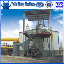 Hot Single stage Coal gasifier in gas generation plant