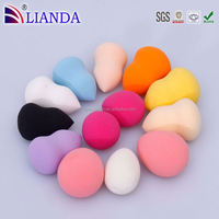 egg shaped cosmetic powder puff, egg shaped makeup sponge, electric beauty powder puff