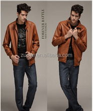 Hot ODM New arrival motorcycle genuine men Comfortable leather motorcycle jacket