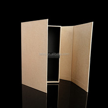 Kraft paper gift boxes , Recycling paper box with compartments