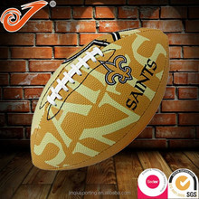 Fashion PU american football,yellow color rugby ball,sale american football for promotion style