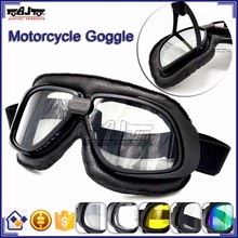 BJ-GT-007 Newest ATV Dirt Bike Tea Color Goggles for Motorcycle