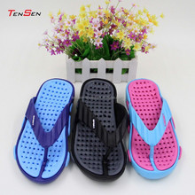 unisex shoes high heel wedge slipper breathable comfortable anti-slip EVA beach flip flops for men and women