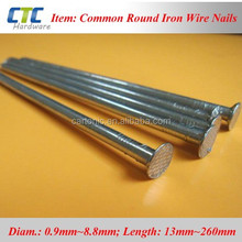 "8""~10""(200M-250MM) Length Huge Spike Iron Wire Nails"