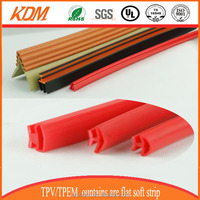 colorful and durable partition wall rubber seal strip
