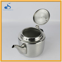 2016 Stainless Steel Kitchenware 2.0L Modern tea pot and kettle set with folding handle