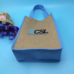 Top grade China custom jute shopping bag wholesale