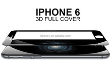 Hot Bending 3D Curved Full Cover Tempered Glass Screen Protector For Iphone 6 Plus Anit-Broken Anti-Scratch