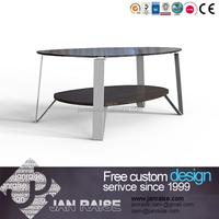 Glass coffee table, wood coffee table, modern coffee table