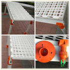 Pecuária durável piso de plástico cobrindo, Plástico slats piso para aves para venda